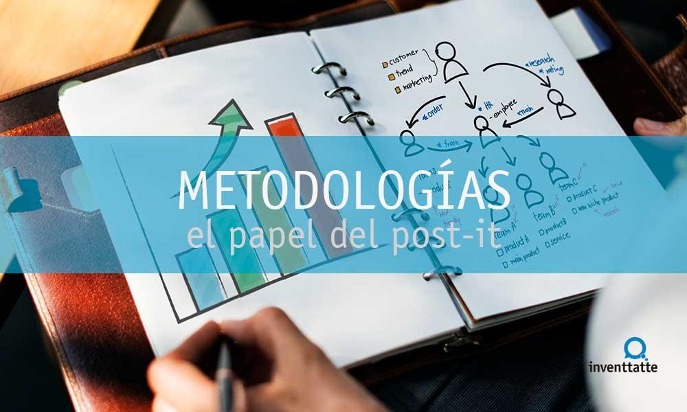 El papel del post-it en las metodologías ágiles