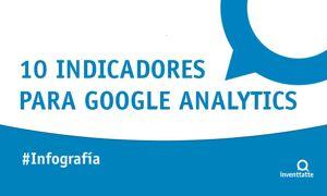 Infografía: 10 indicadores para Google Analytics
