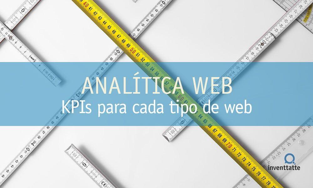 KPIs para cada tipo de Sitio Web