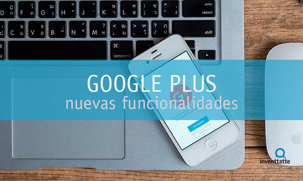 Nuevo Google Plus