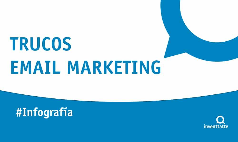 Infografía: Trucos para Email Marketing