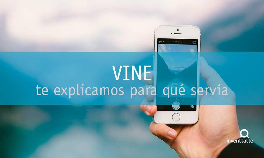 ¿Qué es la aplicación Vine?