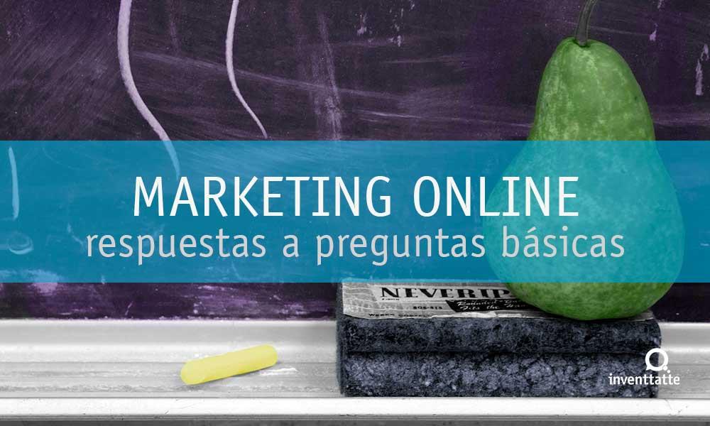 Respuestas a Preguntas Básicas de Marketing Online