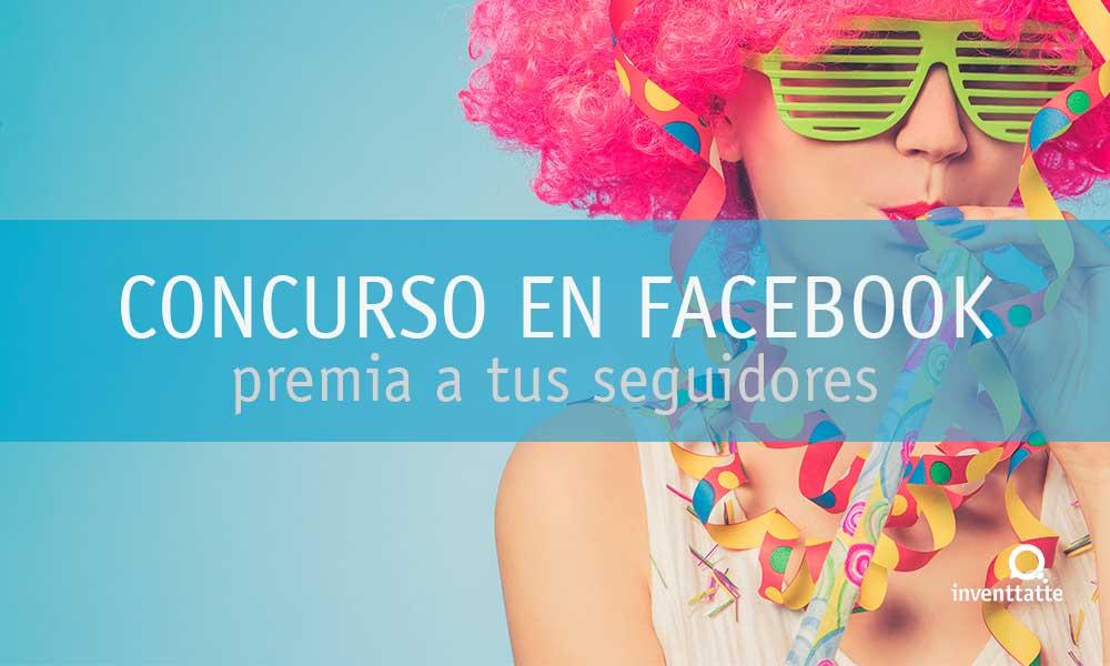 Concursos en el muro de la red social Facebook